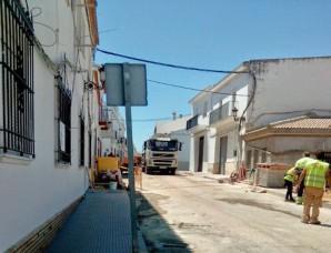 Obras en Lucena