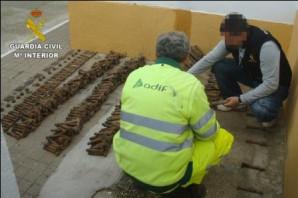 20150227_Delito de Hurto material vía ferrea_VILLALBA DEL ALCOR