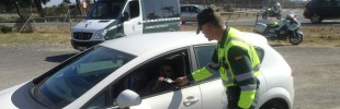 Tráfico Guardia Civil control alcoholemia