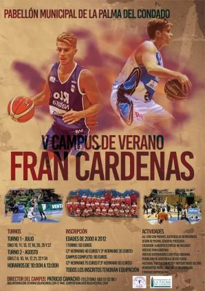Cartel V Campus de verano Fran Cardenas