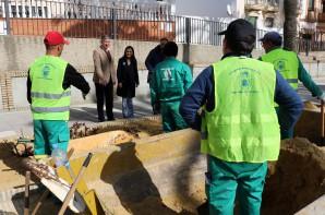 20180226 Subdelegada visita obras PROFEA Palos