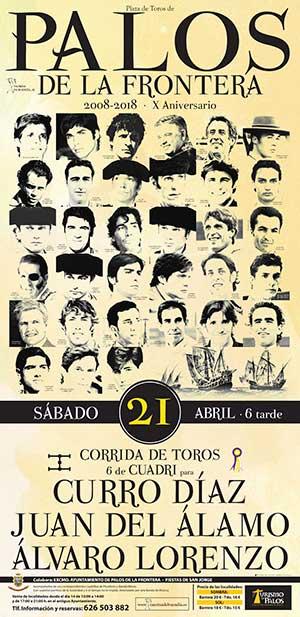 Ayto Palos - Corrida Toros 21 Abril 2018
