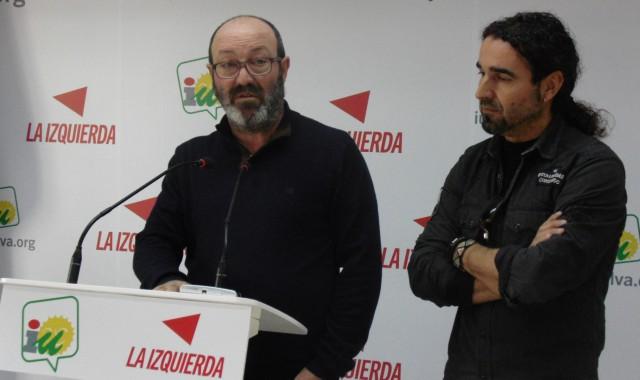 Pedro Jiménez y Antonio Morano