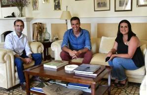 Reunión con Pedro Sánchez