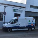 ambulancia rociana centro de salud medico huelga