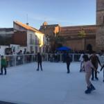 pista patinaje hielo
