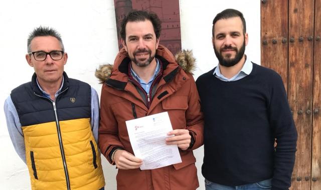 Grupo Local Niebla Andrés Otero (centro)