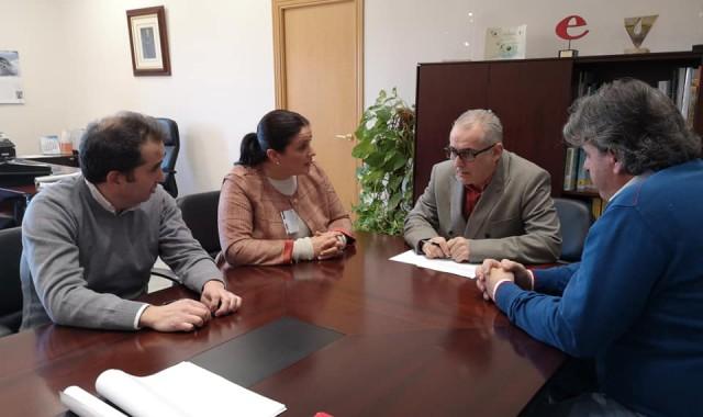 Reunión con presidente de CHG 1