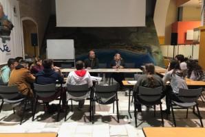 Reunión con corresponsales juveniles