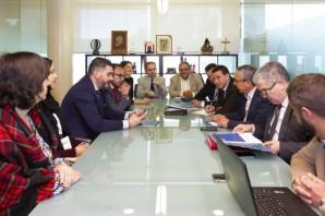 190317. Reunión de directivos de Interfresa con representantes de Fundación Tres Culturas y del Gobierno de Marruecos