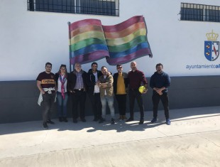 Almonte LGTBI Municipio Orgulloso Asociaicón Mariliendres Juvenalont Adriano Anitnoo