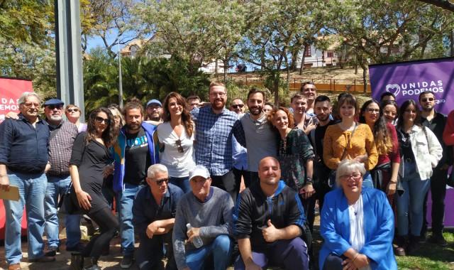 Foto grupo. Noelia Vera Alejandro García y Silvia Zambrano