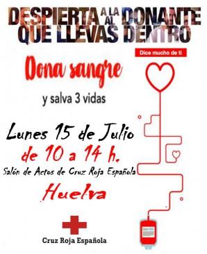 Catrel Cruz Roja Donación Sangre Julio 2019