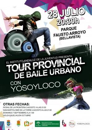 TOUR PROVINCIAL DE BAILE URBANO