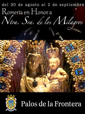 ROMERÍA MILAGROS PALOS AGOSTO 2019
