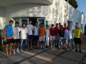 visita jugadores Federación Bádminton