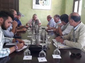 reunión alcaldesa-cepyme Almonte